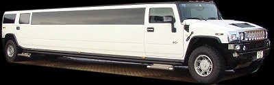 White Hummer H2 16 Seater Limo