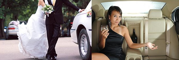 Limos for Hire -  Wedding Limos for hire