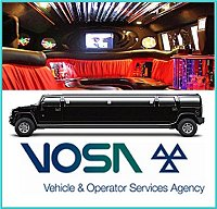 Legal Limo hire -  VOSA LOGO