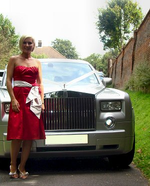 Wedding Limo - Rolls Royce Phantom